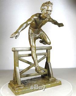 sculpture homme athlete