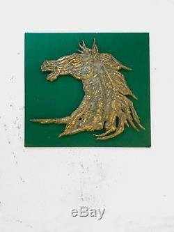 1970 Philippe Cheverny Sculpture Art-deco Shabby-chic Brutalist Cheval Equestre