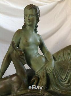 Art Deco Demeter CHIPARUS Diane Chasseresse 1920 Rare