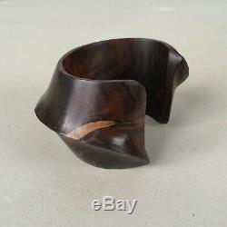 Bracelet Catherine Noll Sculpture Abstrait Art Déco