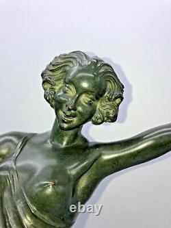 Bronze Danseuse au Tambourin Pierre Le Faguays