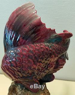 G. H Laurent Art Deco Sculpture Art Deco Poisson Ceramique