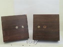 G. H. Laurent Paire De Serre Livre Art Deco Chien Sculpture Bookends Wood Carved