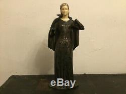 Grand sujet ART DECO SCULPTURE statue par MENNEVILLE et ROCHARD