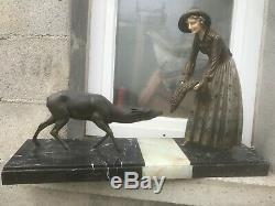 Grande sculpture statue ART DECO 1930