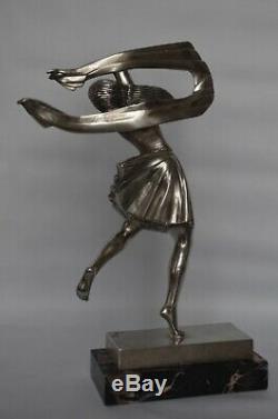 Ignacio Gallo H Payen Editeur Sculpture bronze art deco