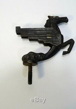 Mascotte automobile bouchon de radiateur cheval ailé Pégase sculpture Art déco