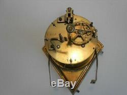 Pendule Art Deco Sculpture Uriano Clock Uhr Orologio Reloj Pendulo
