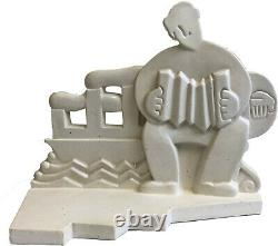 Primavera- Le Bandonéoniste- Sculpture Art Déco Sainte Radegonde