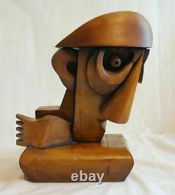 Quality Museum/oeuvre D'art Cubiste/sculpture Art Deco 1930/picasso/no Hst Hsp