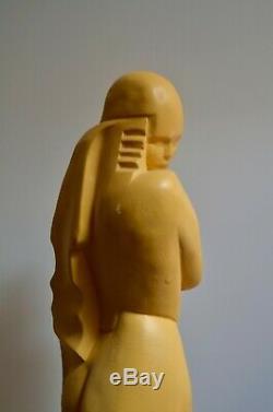 Sculpture ART DECO'Nu de l'UAM' signée MARTEL