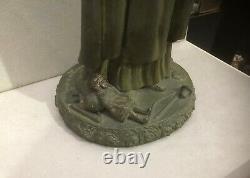 Sculpture ART DECO Ste THERESE DE LISIEUX par LUCIE DELARUE-MARDRUS datée 1927