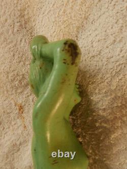 Sculpture ART DECO signé M. FONT femme nue régule Max Le Verrier/Bourraine 1930