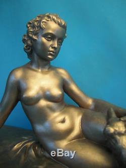Sculpture Art Déco En Pltre Des Années 1930