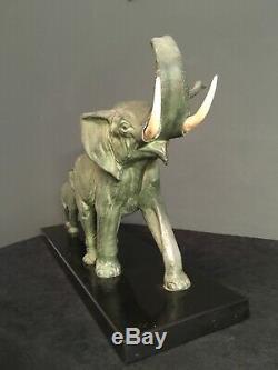 Sculpture Art déco en régule Irénée ROCHARD
