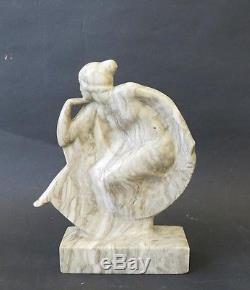 Sculpture Femme Art deco. Danseuse des ballets Russes