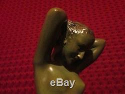 Sculpture Nu Art Nouveau Deco Jugendstil Venus Marcel Bouraine Offrande 1910