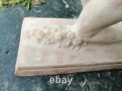 Sculpture Terre Cuite Art Déco Signé R. Guerbe 24