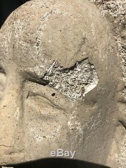 Sculpture en Pierre Buste Epoque Art Déco XXe