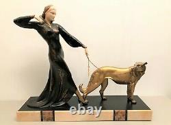 Sculpture époque art déco Chiparus