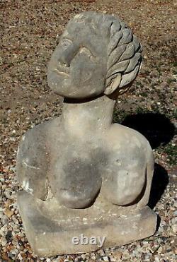 Sculpture pierre 1930 art déco (n°1)