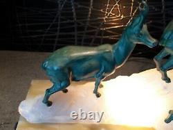 Sculpture statue art deco